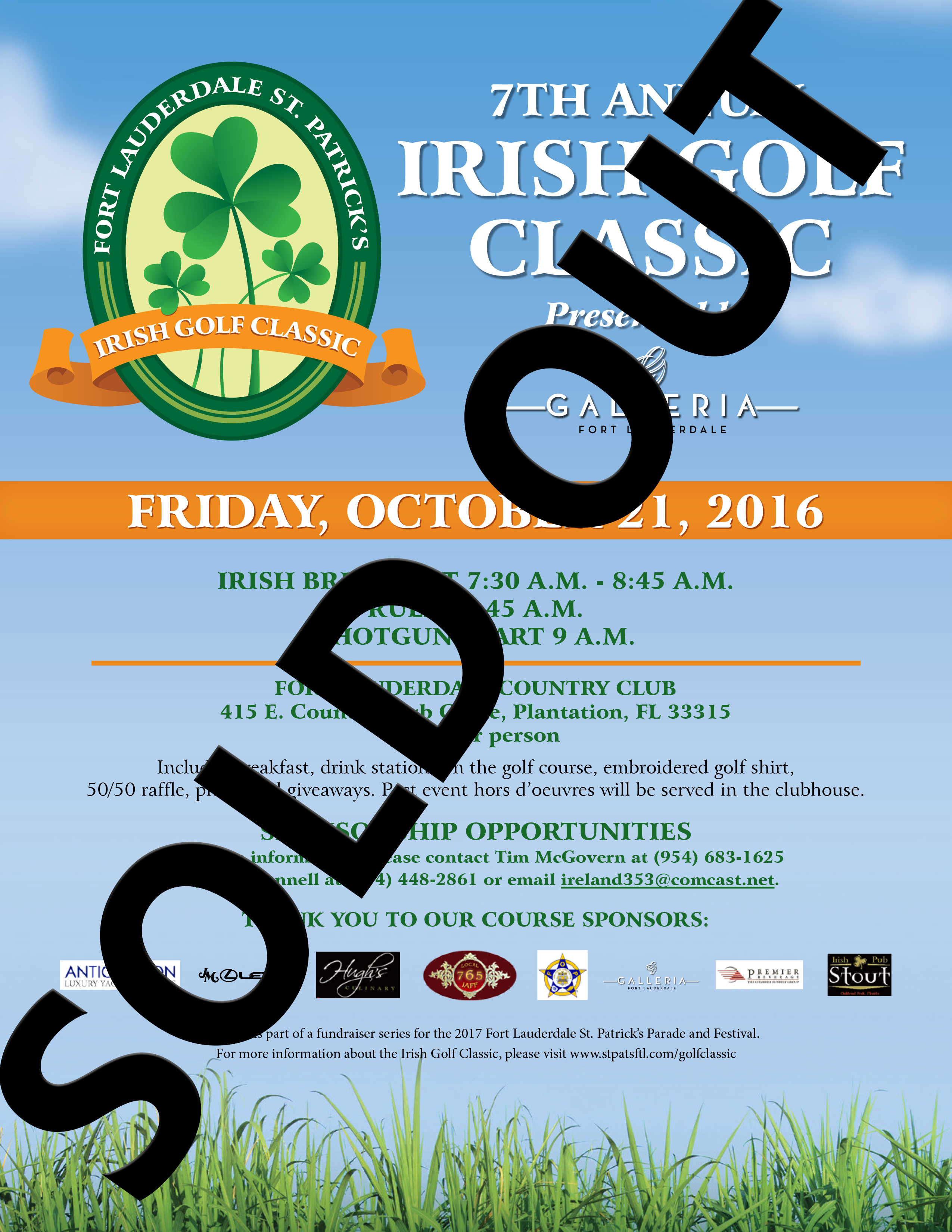Fort Lauderdale St. Patrick's Golf Classic