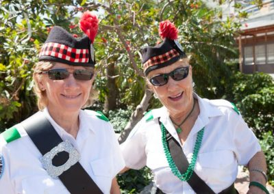 lady pipers closeup