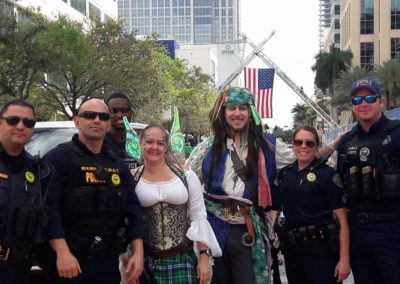 cops and fairy and pirate