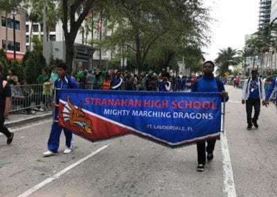 marching dragons